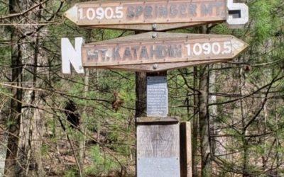 My hike on the Appalachian Trail