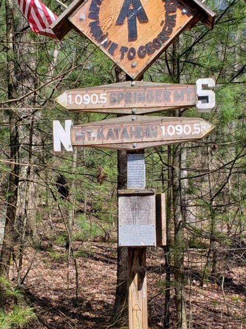 My hike on the Appalachian Trail