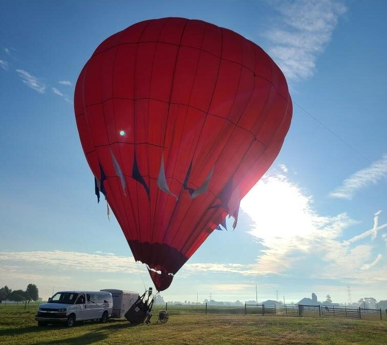 Thoughts of International Logistics while on a Hot Air Balloon Ride